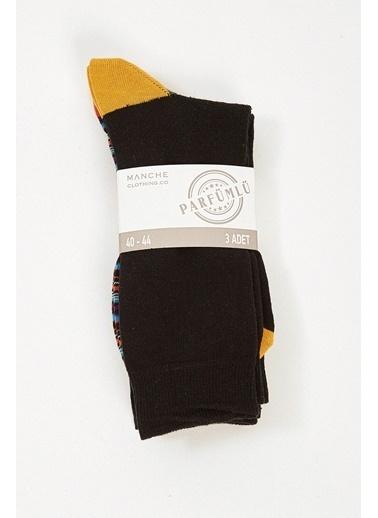 Manche Çorap Siyah
